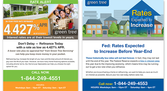 GreenTree – Retention Emails
