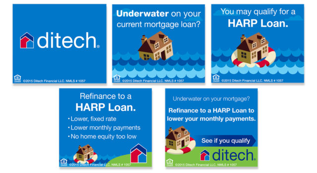 ditech mortgage corp banner ad