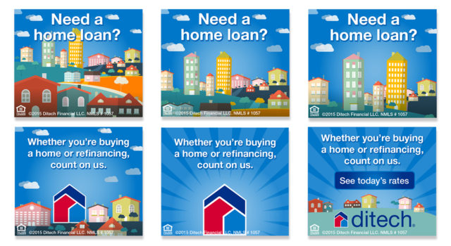 ditech mortgage corp Home Loan banner ad