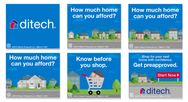 ditech mortgage corp Home Loan Purchase banner ad