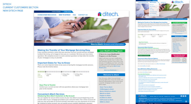 ditech – website