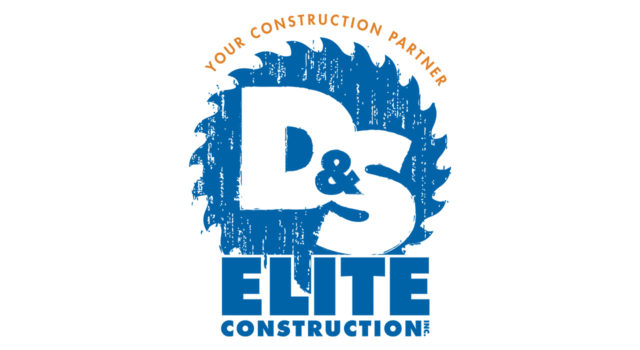 d&s elite construction logo