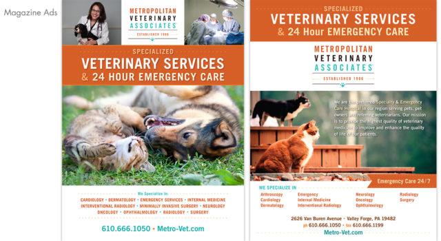 Metropolitan Vet. Associates – Marketing