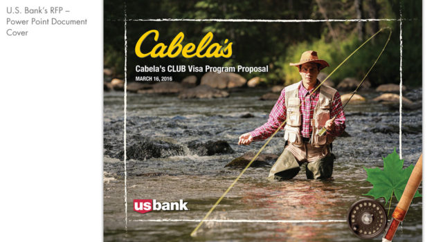 U.S. Bank – Cabela's RFP Marketing